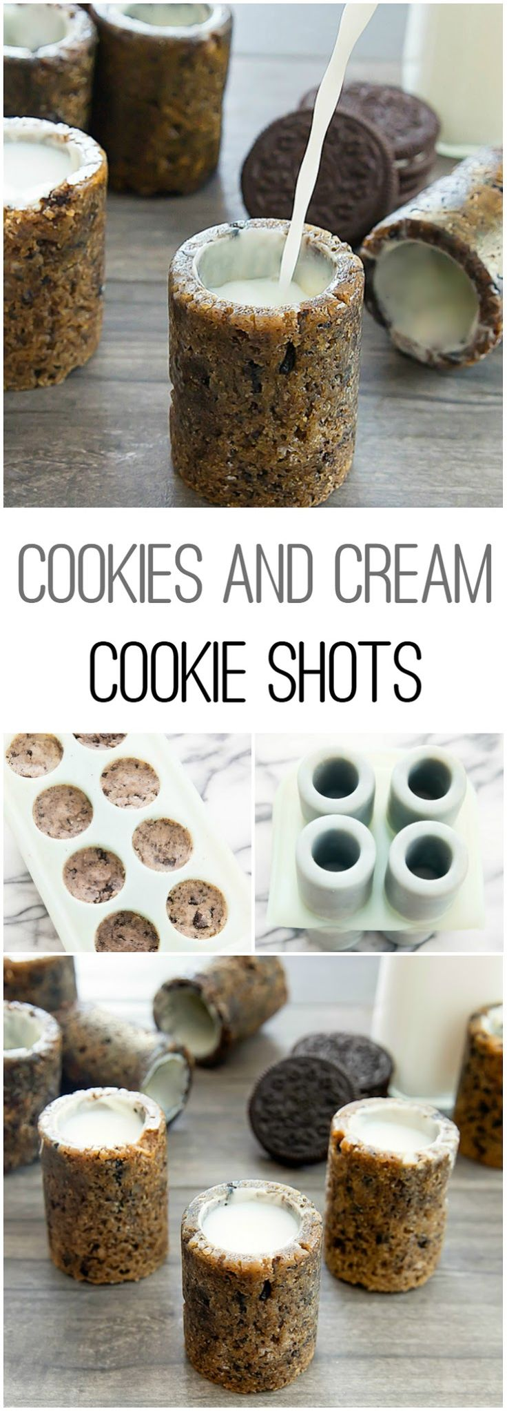 Cookies and Cream Cookie Shots!