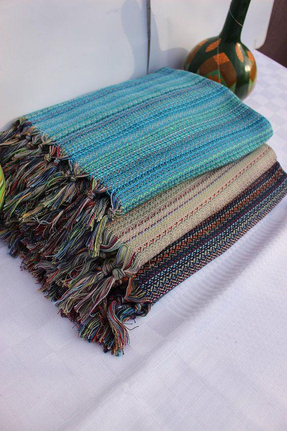 Handwoven Baby Blanket Pure Cotton Throw Organic Baby Wrap Express Shipping Via Ups Hand Loomed Blanket Hand Weaving Handmade Blanket