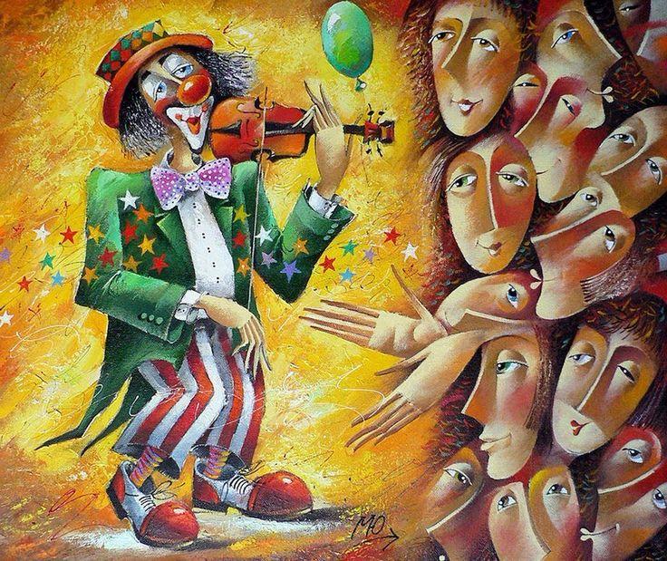 веселый клоун рисунок - Поиск в Google