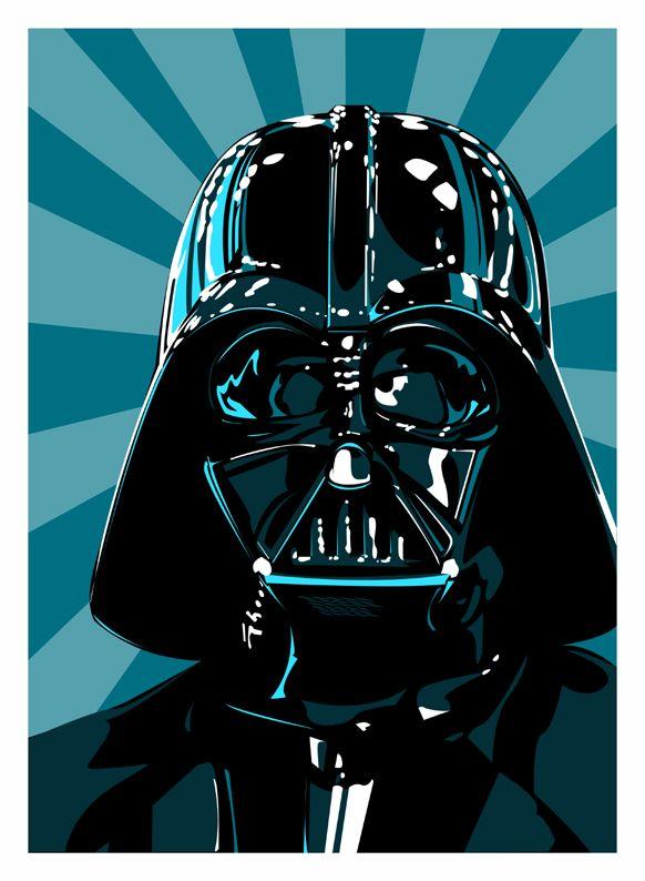 Awesome Darth Vader Illustration                                                                                                                                                                                 Más
