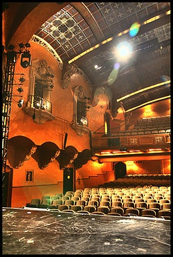Pasadena Playhouse: interior