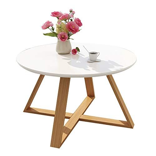 Xqy Tea Table Modern Minimalist Living Room Coffee Table Round Small Side Table Bedroom Small T Simple Dressing Table Simple Bedroom Living Room Coffee Table T table for living room
