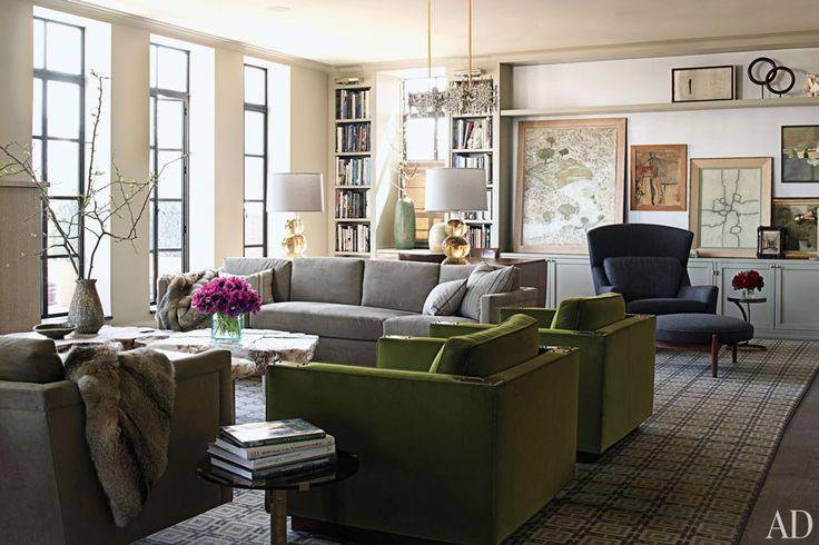 Habitually Chic®: Fashion Power Couple Apartment