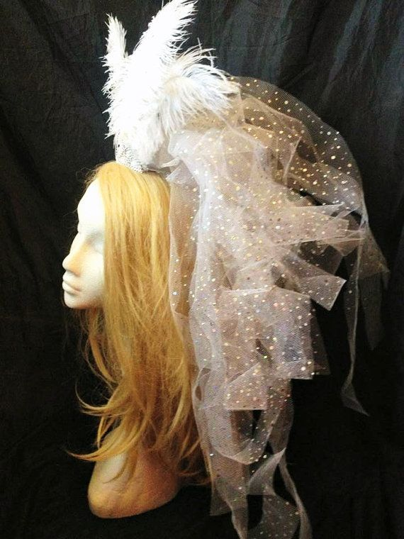 Hey, I found this really awesome Etsy listing at https://www.etsy.com/listing/187944718/burlesque-bridal-veil-glamour-girl
