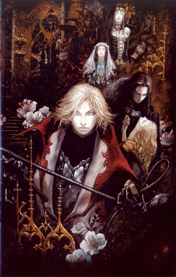 Castlevania: Lament of Innocence, character design by Ayami Kojima. #videogames #art