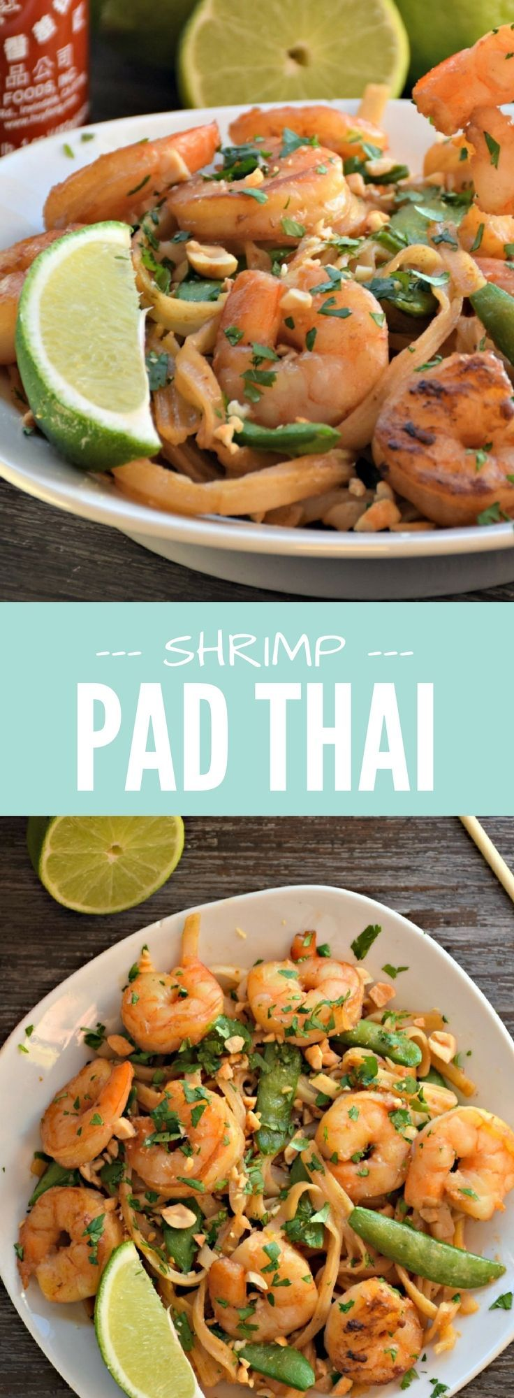 Wake up your taste buds tonight with this flavorful, 20 Minute Shrimp Pad Thai! Based with traditionalandnaturally gluten free rice noodles, this dish is filled with complex yet comforting flavors.