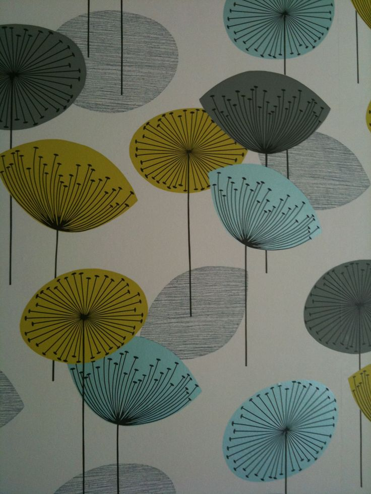 Fabric designed by Lucienne Day