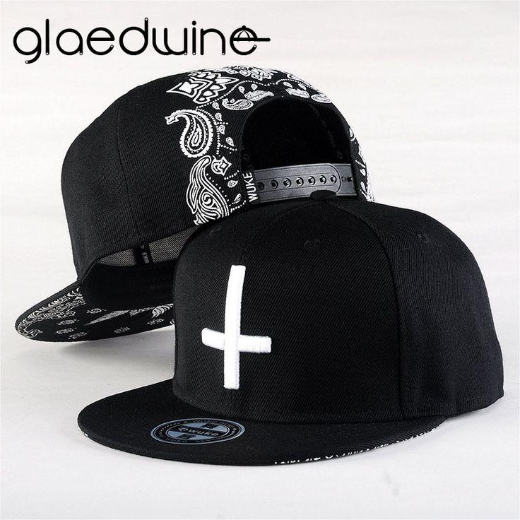Glaedwine High Quality Snapback Baseball Caps Men Black Baseball Cap Women Bone Trucker Caps Gorras Planas Hip Hop Hats For men #Affiliate