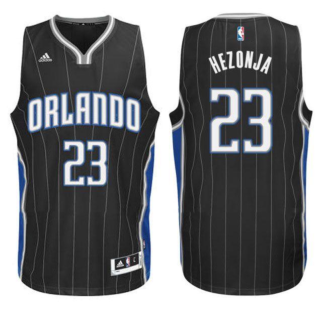 Mario Hezonja Orlando Magic #23 New Swingman Black Jersey