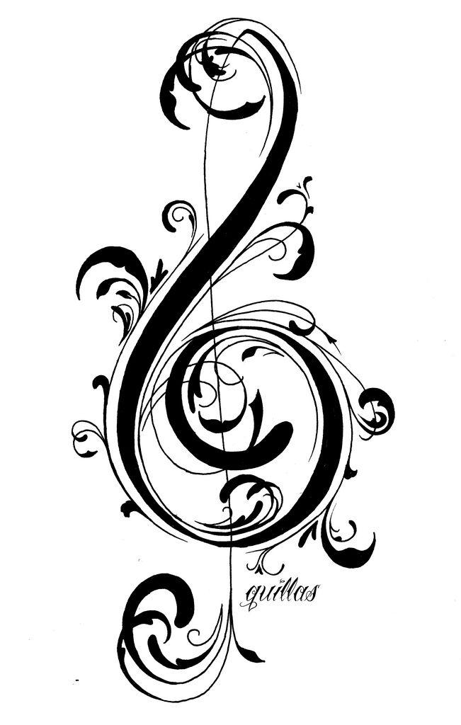 17 mejores ideas sobre Clave De Sol en Pinterest | Notas musicales ...