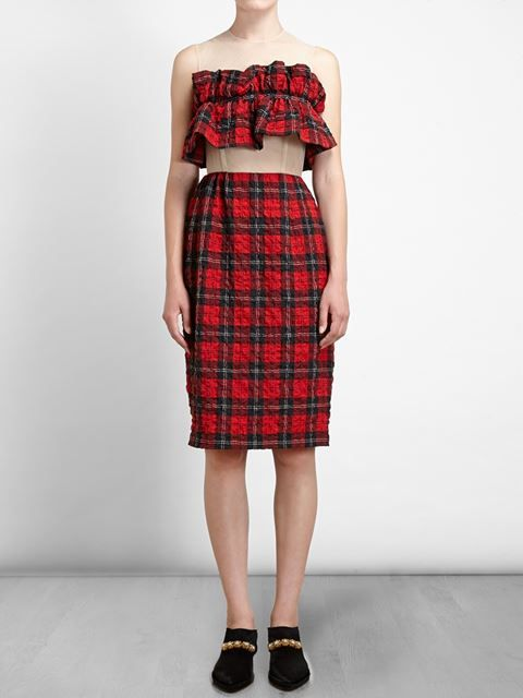 They didn't wear tartan like this when I grew up in Scotland!