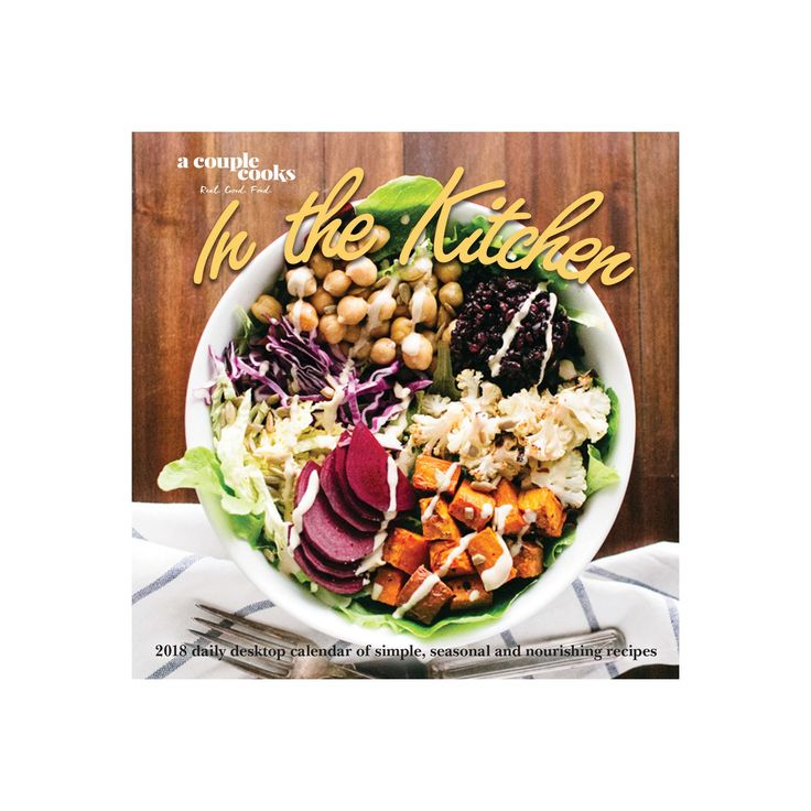 2018 A Couple Cooks Desktop Calendar Daily - In the Kitchen,