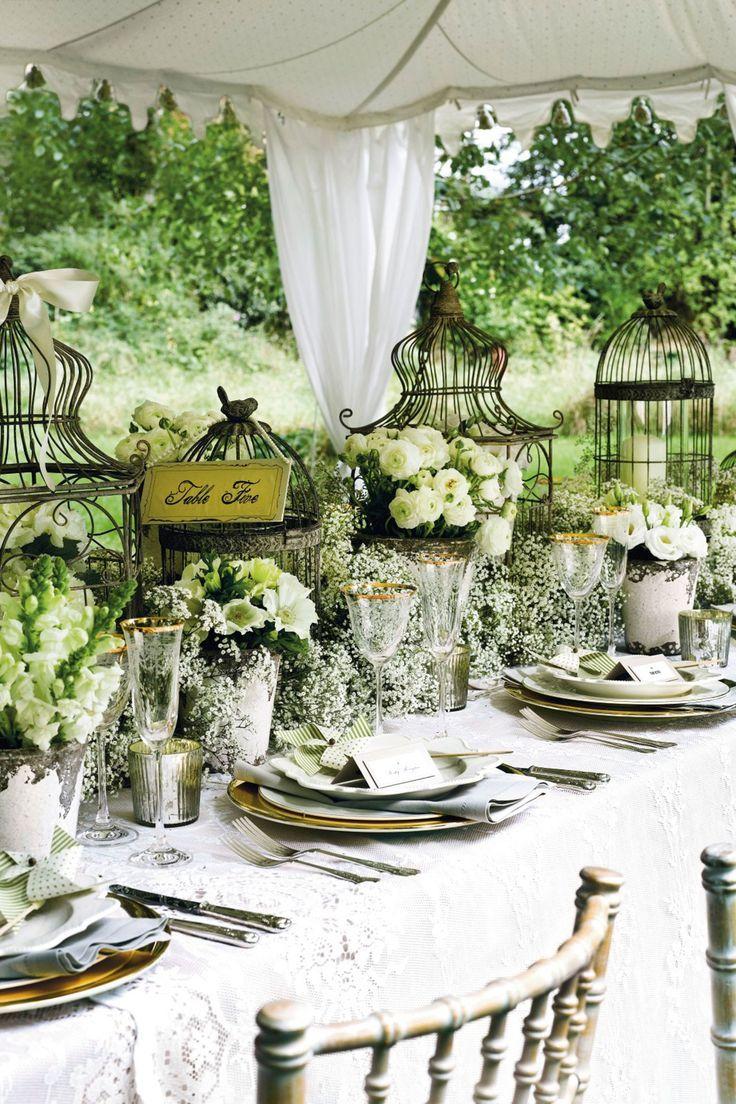 wedding reception at home ideas uk%0A Most Beautiful Table Settings  BridesMagazine co uk