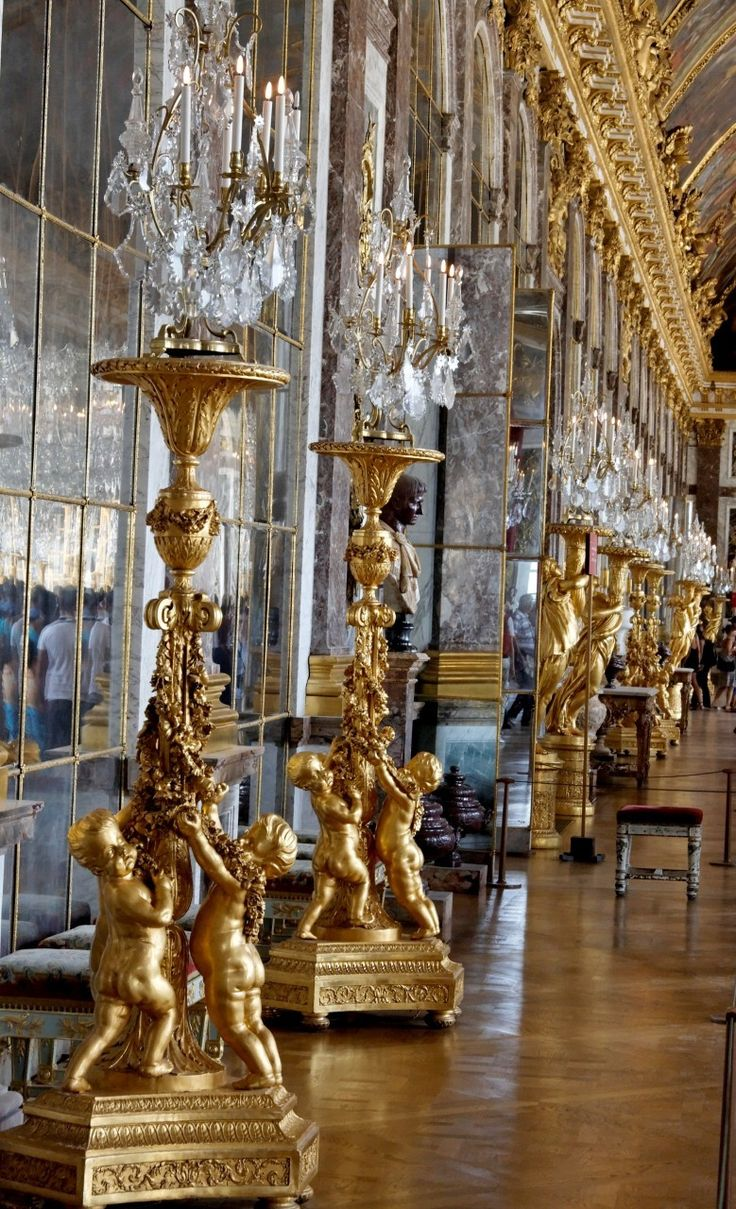 Versailles, France. Hall of Mirrors