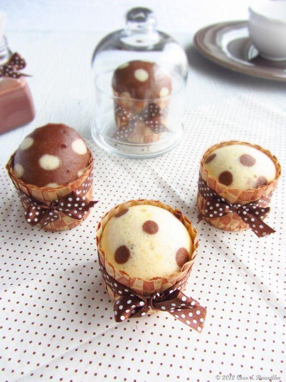 Coco & Baunilha: Queques de baunilha e chocolate (a vapor)
