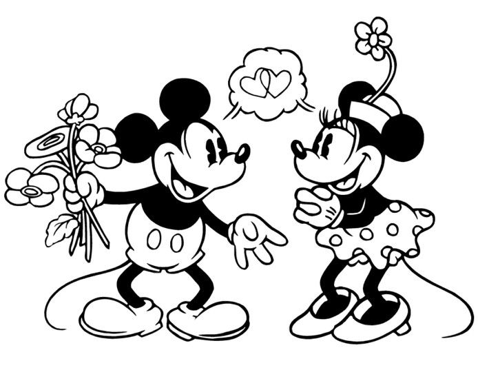 90 best Classic Mickey and Minnie images on Pinterest