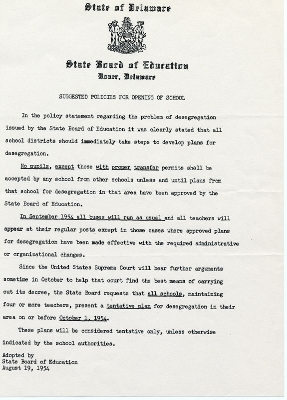 good thesis statement for brown vs board of education Free board of education report of the board of education - thesis: slightly early to ensure a good seat the name of this brown v board education.