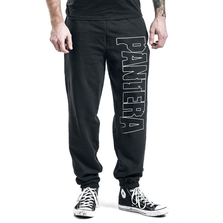 "Pantaloni jogging uomo ""Logo"" dei #Pantera."