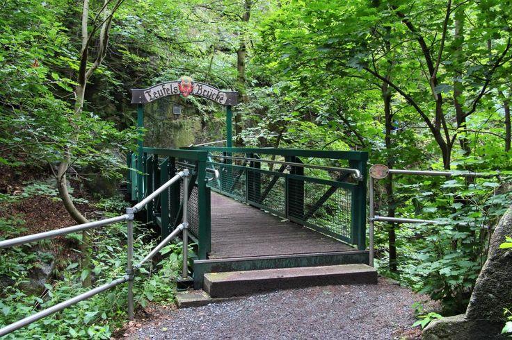 Teufelsbrücke (Bodetal bei Thale/ Harz) - Wanderung vom Hexentanzplatz ins Bodetal