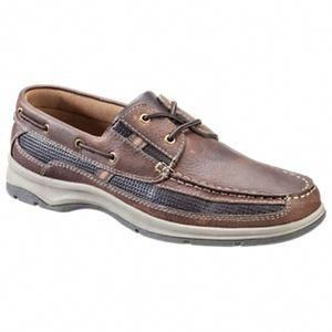 2-Eye Boat Shoes for Men - Dark Brown
