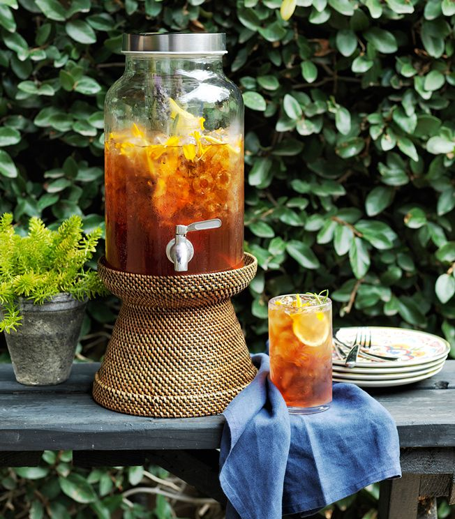 Learn how to make sweet tea.The ritual of making it has passed down through generations, and memories associated with it are as sweet as the drink itself.