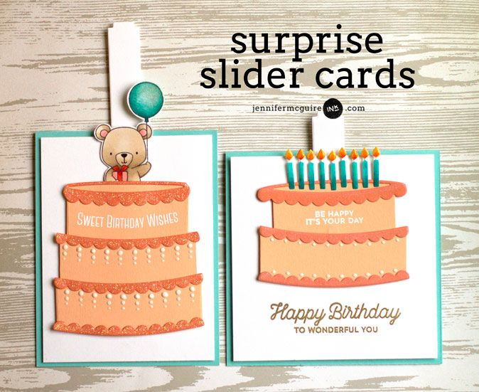 Surprise Slider Cards