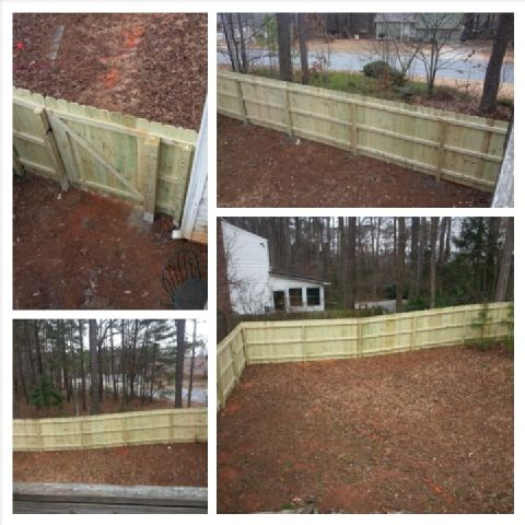 Fence Installation and Repair Dunwoody,