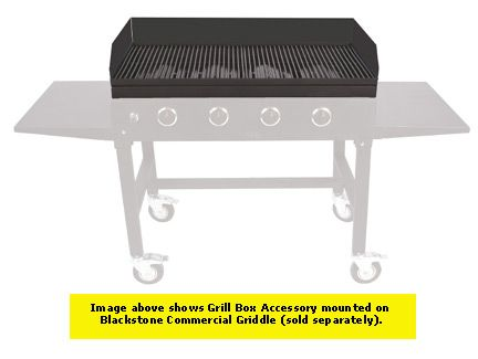 Blackstone Grill Box - 1060 Outdoor Cooking Accessory for the 1050 Commercial Griddle