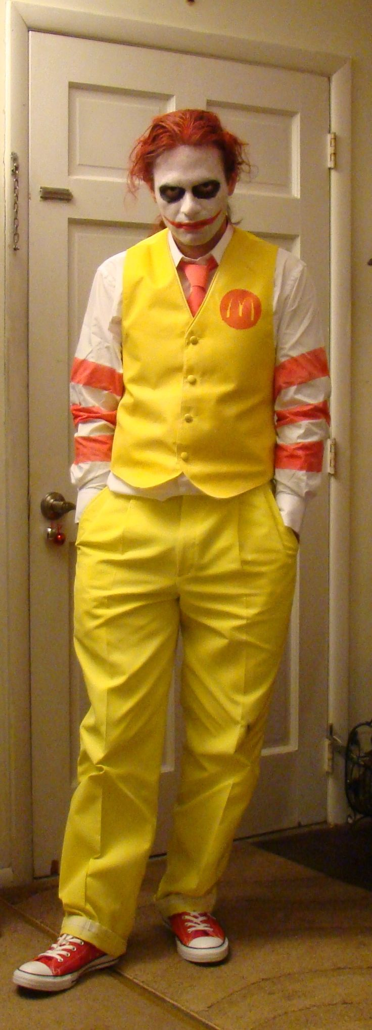 new ronald mcdonald costume - Google Search