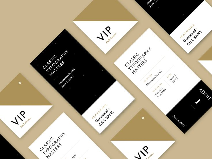 Typography Masters Event Tickets