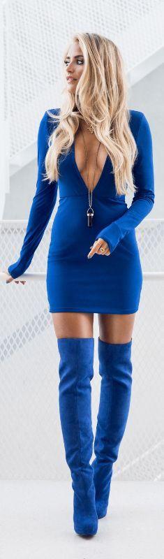 All Blue / Fashion By Janni Deler