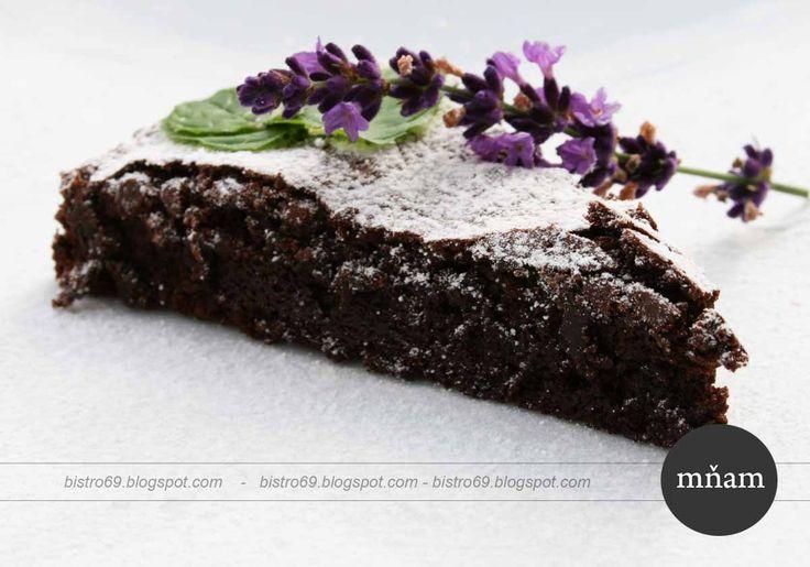Čokoládová torta z talianska