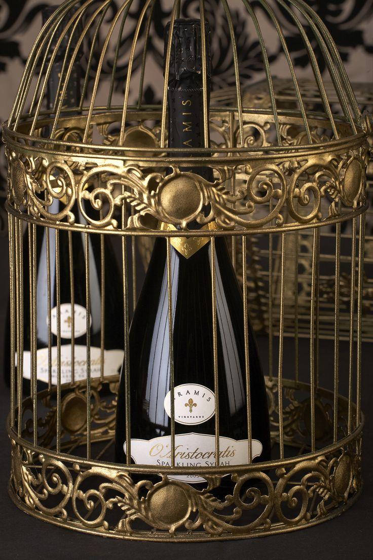 Aramis O'Aristocratis Sparkling Syrah #Wine #AramisVineyards