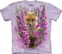 The Mountain Unisex Adult Foxgloves Animals T Shirt