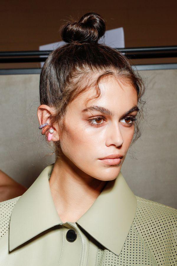 Baby Hair Bun Diesen Trend Schauen Wir Uns Vom Laufsteg Ab Beauty