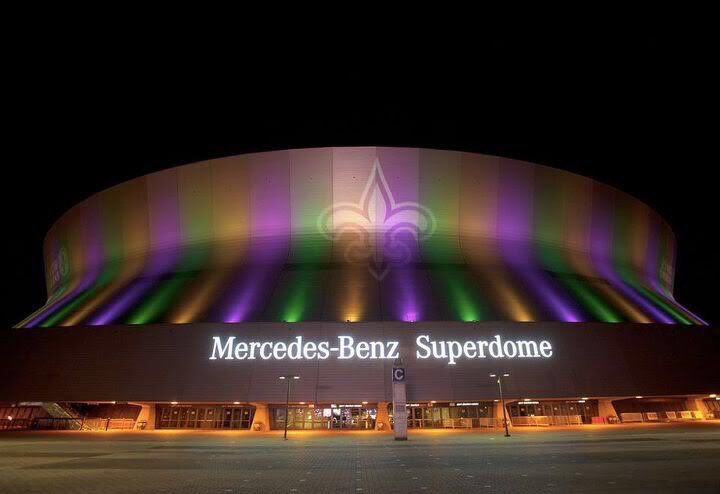 Home Sweet Superdome.