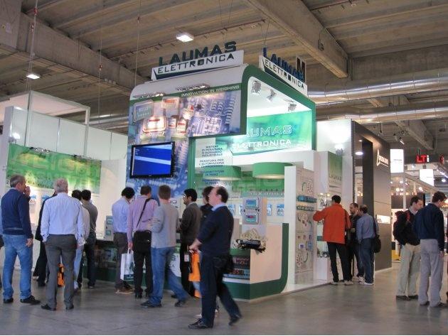 Laumas at SPS/IPC/DRIVES ITALY 2012 - Automation Exhibition - Parma -Italy