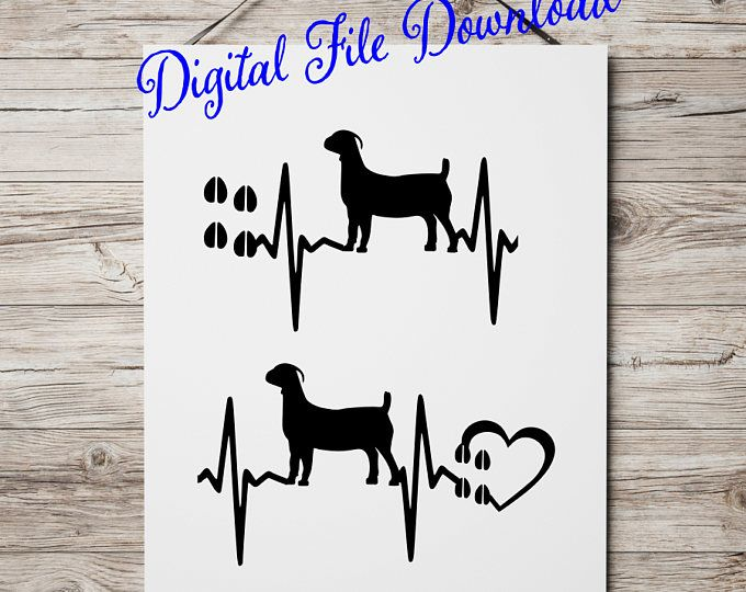Download Show Goat SVG files for cricut silhouette Show Meat Goat ...