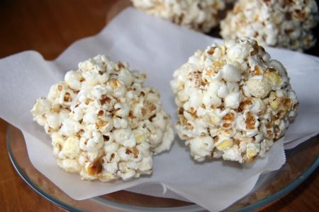 Recipe: Gluten Free Popcorn Balls  http://wheatfreemom.com/blog/recipe-gluten-free-popcorn-balls/