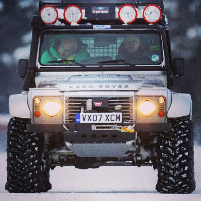 // Land Rover Defender 110 Iceland Custom Edition