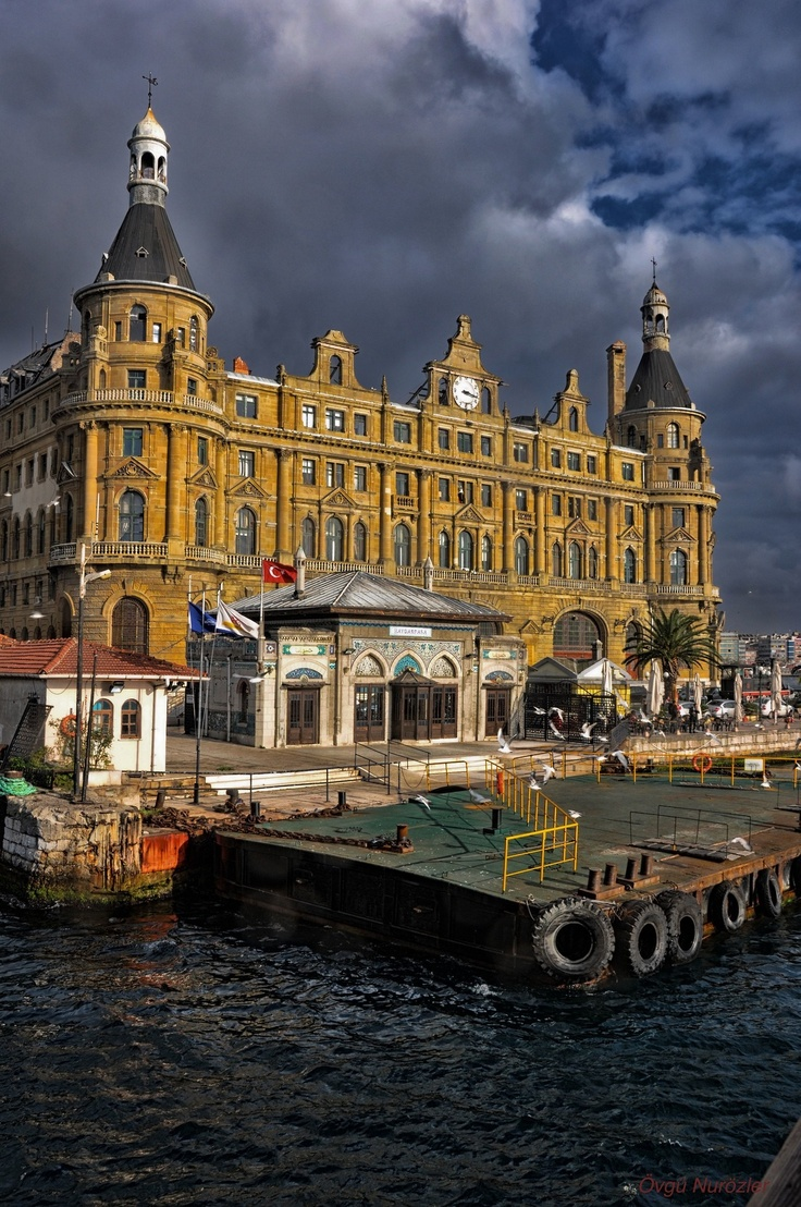 Haydarpaşa - Was one of two train stations in Istanbul, TURKEY