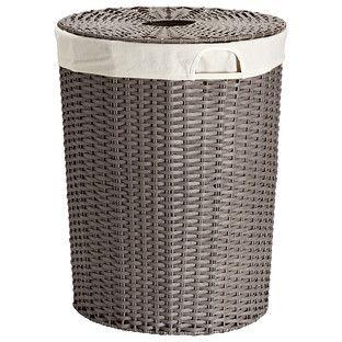 17 best images about round hamper on pinterest vinyls set of and storage bins - Round wicker hamper with lid ...