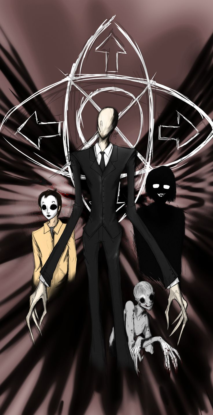 Master slender man an Mask and the Observed/Slenderman