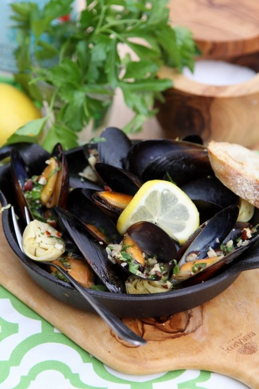 Mussels with Hazelnut Gremolata | Recipe | Nice, Thoughts ...