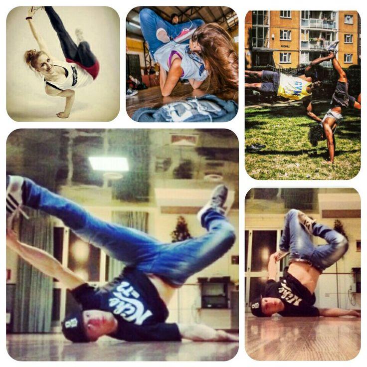 Breakdance poses