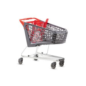 Nová generace plastových vozíků Wanzl se nazývá Salsa. Pokrývá potřeby nákupu v běžných prodejnách i hypermarketech.