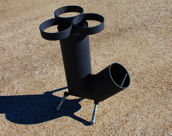 Cohete estufa - estufa de campamento - emergencia estufa - estufa de leña - estufa de leña - supervivencia - auto alimentación estufa - estufa portátil