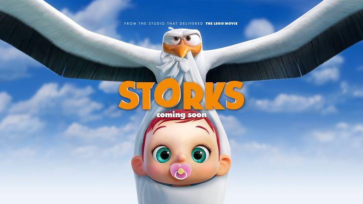 Warner Bros ha revelado el segundo tráiler de Storks (Cigüeñas), película que estrena en septiembre del 2016  - http://j.mp/1UXAq7V