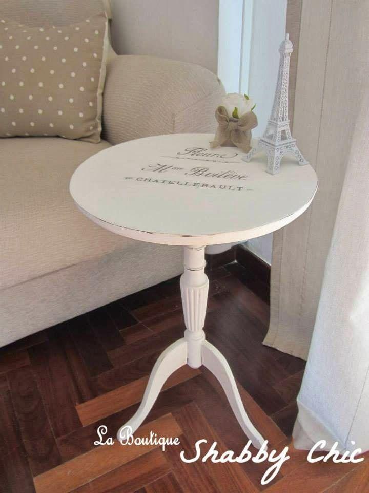 Tavolino Fleurs | La Boutique Shabby Chic