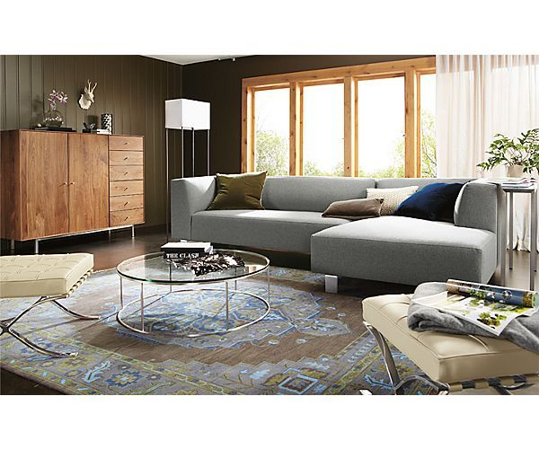 Chelsea Sofa Chaise Room - Living - Room u0026 Board  sc 1 st  Pinterest : room and board chelsea sectional - Sectionals, Sofas & Couches